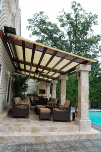 Retractable Pergolas, Canopies, Shades and Louver Systems