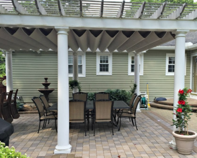 undermount pergola systems