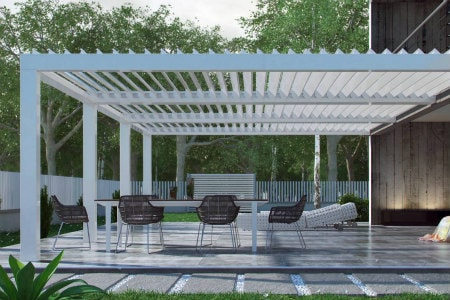 Louvered Pergola Breslow