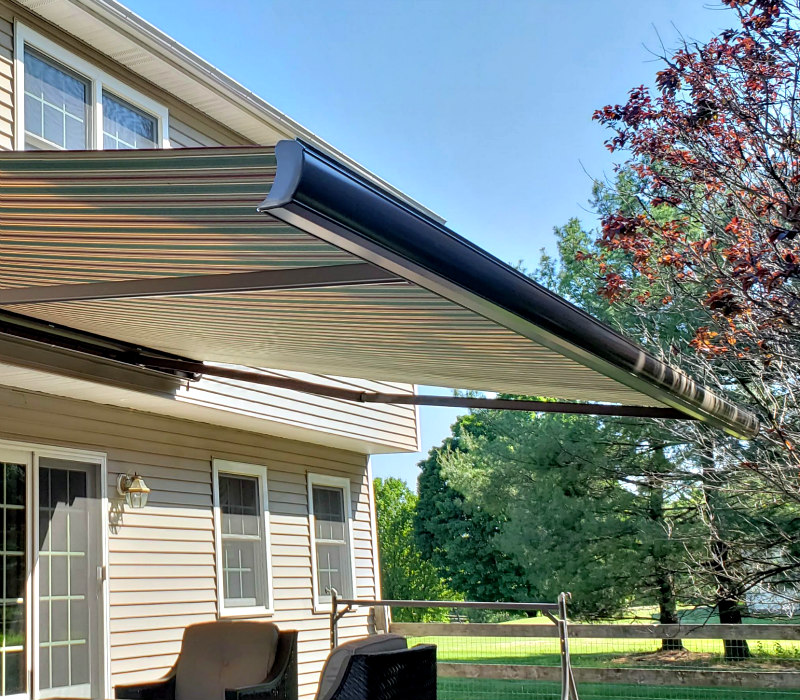 Aristocrat Manor Awnings No Valance