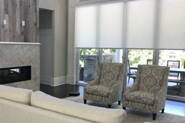 Designer Roller Shades Window Treatments in Morristown NJ