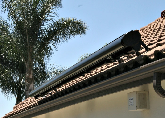 NuImage Awnings G250 Partially Casetted