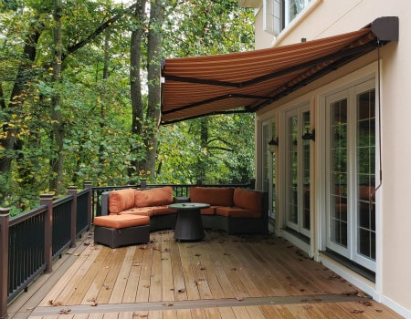 Retractable Awning Alutex