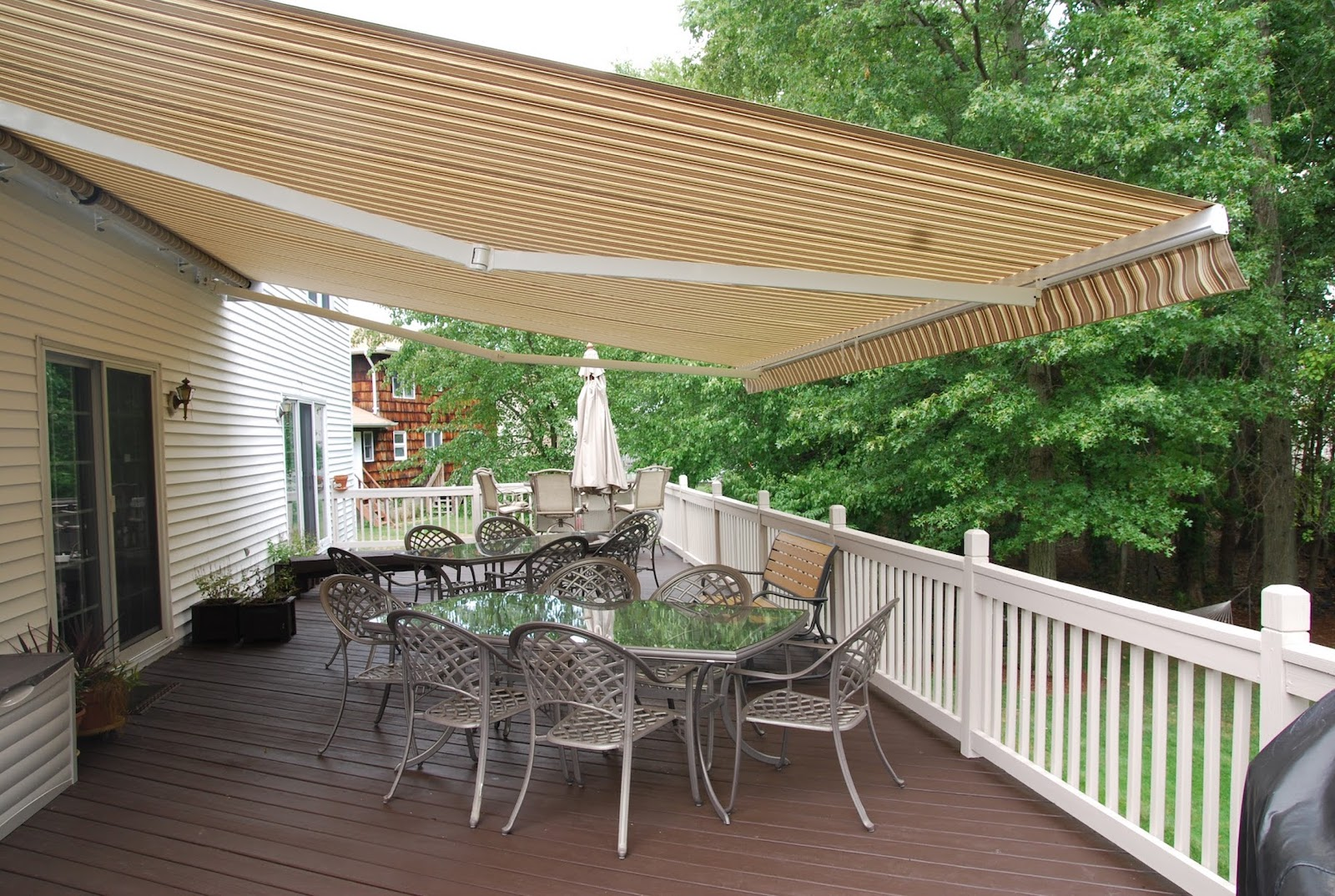 Eclipse Retractable Awning by Breslow Home Design Center in Chester NJ
