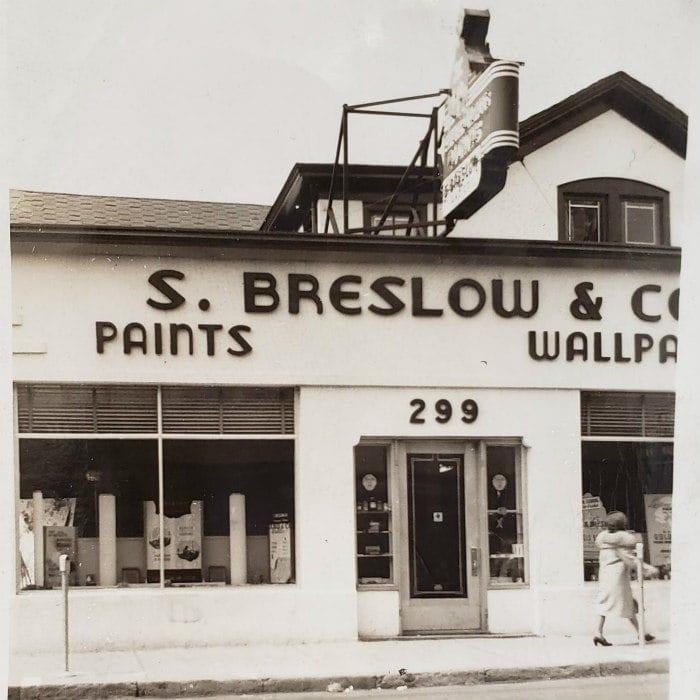 Breslow's Morriston NJ Storefront
