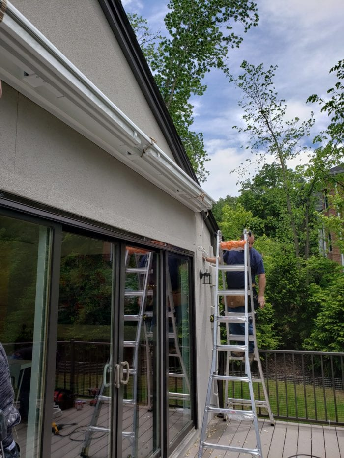 Watchung NJ Home Awning Installation | Breslow Home Design Center