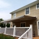 Alutex Madera Retractable Awning - Opened-Side - Madison NJ - Breslow Home Design Center