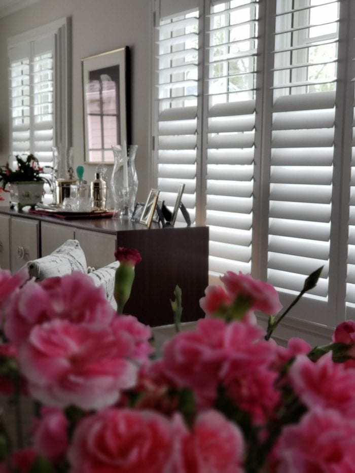 Hunter Douglas Newstyle Plantation Shutters-close