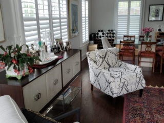 Hunter Douglas Newstyle Plantation Shutters-side room