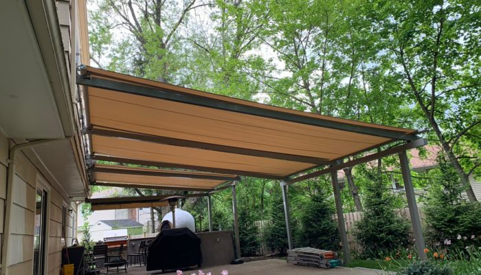 Alutex Solaria Retractable Canopy - Chatham NJ - Breslow Home Design Center