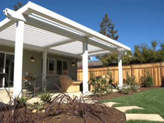 Apollo Lawn View - Louvered Roof System - Breslow Home Design Center