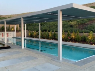 Apollo Pool Panorama Louvered Roof System - Breslow Home Design Center