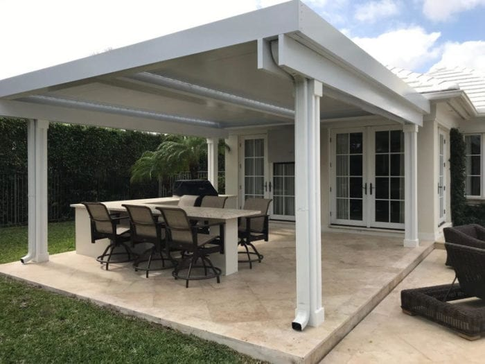 Apollo Poolside Louvered Roof System - Breslow Home Design Center