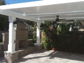 Apollo Tuscany Louvered Roof System - Breslow Home Design Center