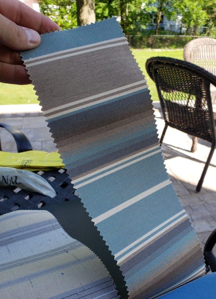 Sunbrella Kiawah Spa Fabric book - Breslow Home Design Center
