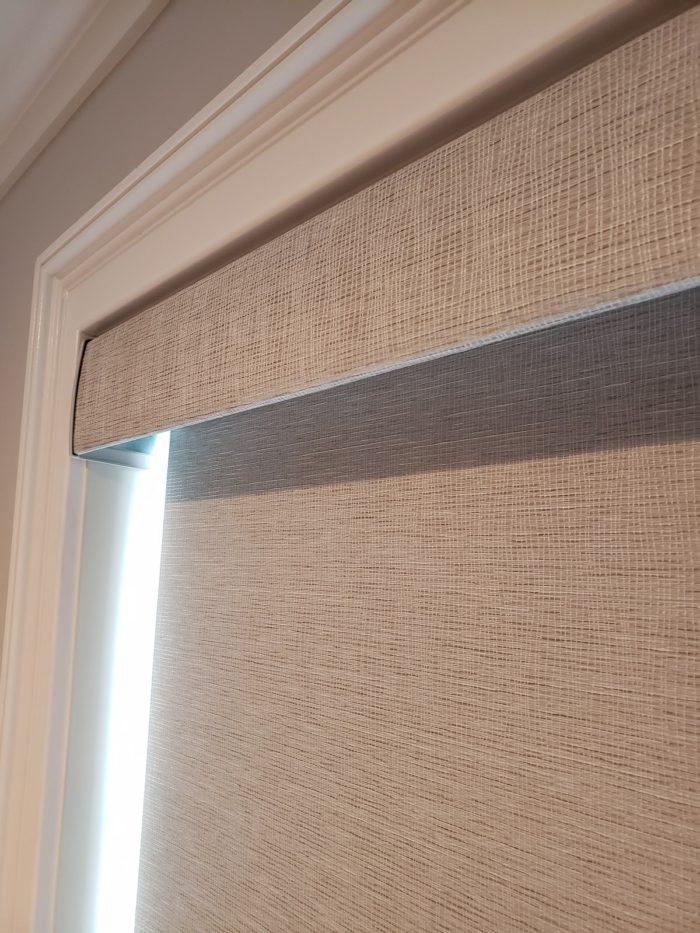 Designer Roller Shade - Close Up - Breslow Home Design Center