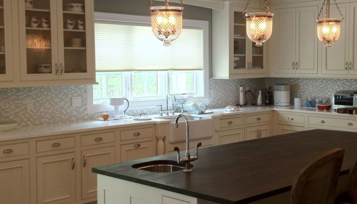 Duettes in Kitchen - Breslow Home Design Center