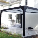 Apollo Louvered Roof System - Wide View - Saddle River, NJ - Breslow Home Design Center