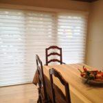 Silhouette in Dining Room - Vanes Open - Short Hills, NJ - Breslow Home Design Center