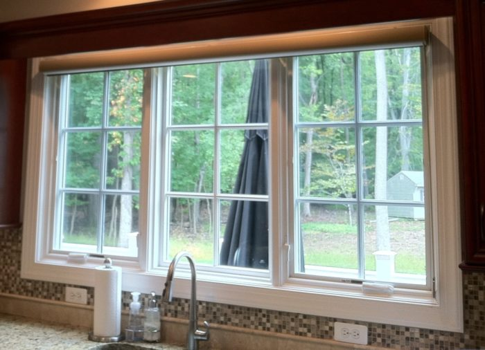 Silhouette in Kitchen - Open - Short Hills, NJ - Breslow Home Design Center