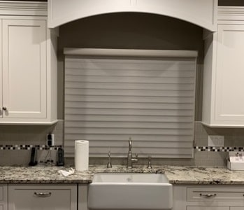 Silhouette in Kitchen - Towaco, NJ - Breslow Home Design Center