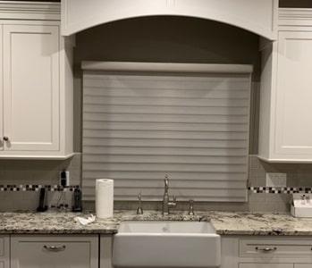 Silhouette in Kitchen - Towaco, NJ - Breslow Home Design Center