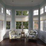 Duettes in Living Room - Breslow Home Design Center