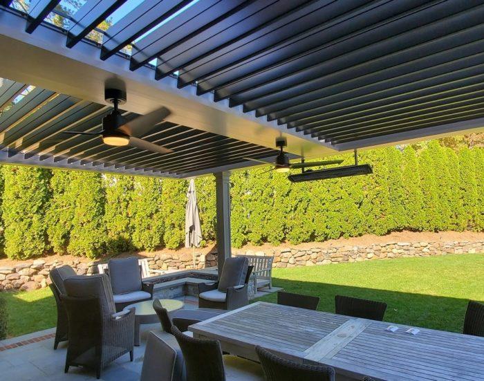 Apollo Louvered Roof System - Short Hills, NJ - Breslow Home Design Center
