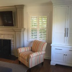 wood blinds by Breslow home Design