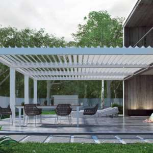 Rotating louver systems by Breslow